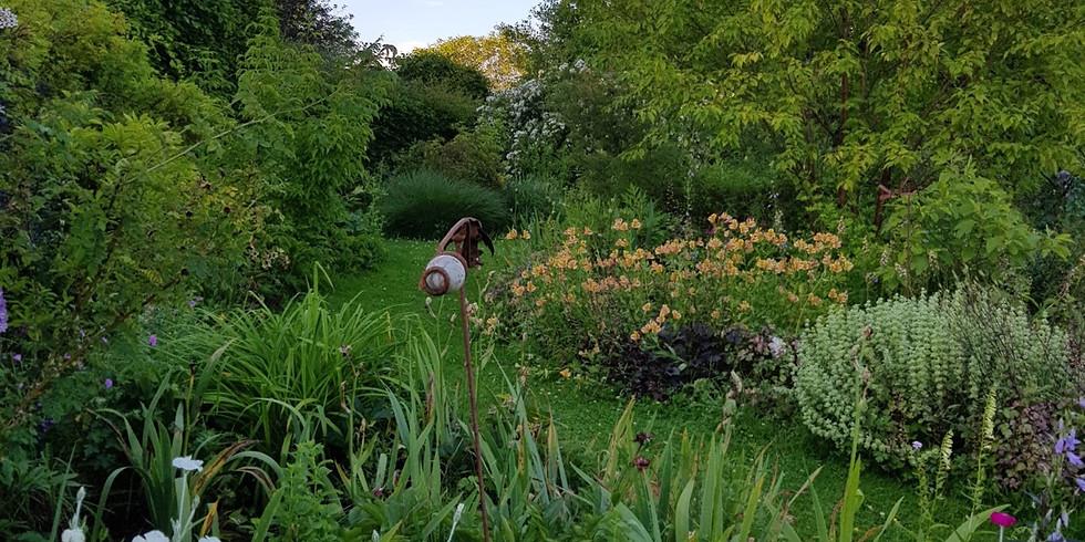 Visite du jardin de Françoise