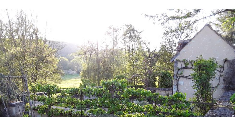 Visite du jardin d'Anne-José