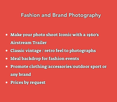 Airstream Fashion Photography