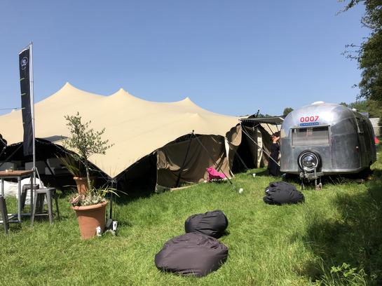 Airstream Glastonbury Festival