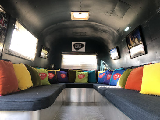 Inside Airstream