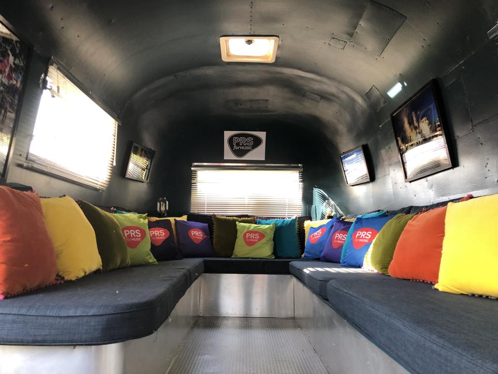 Airstream Green Room