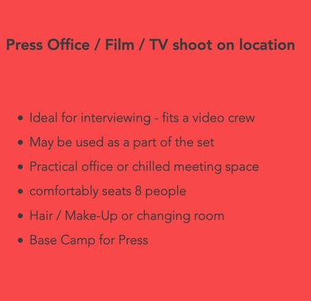 Airstream Press Office