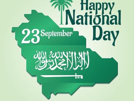 HAPPY 89th SAUDI NATIONAL DAY