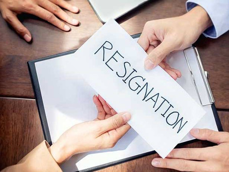 How to Resign Professionally