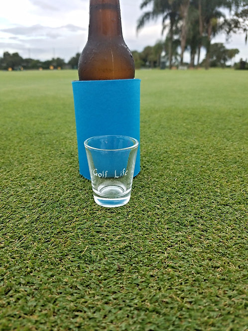 Golf Life Signature Logo Shot Glasses - Set of 4