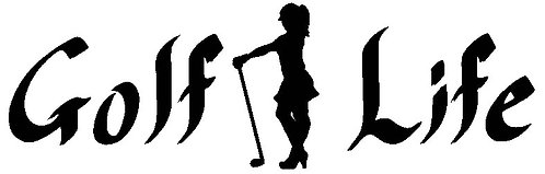 Golf Life Female Decal - Small
