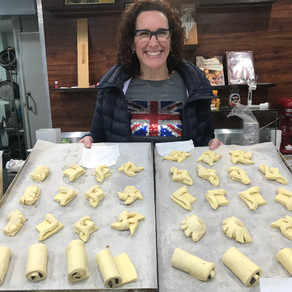 3rd lesson 30 June 2019: You can never have enough of croissants and danish pastries