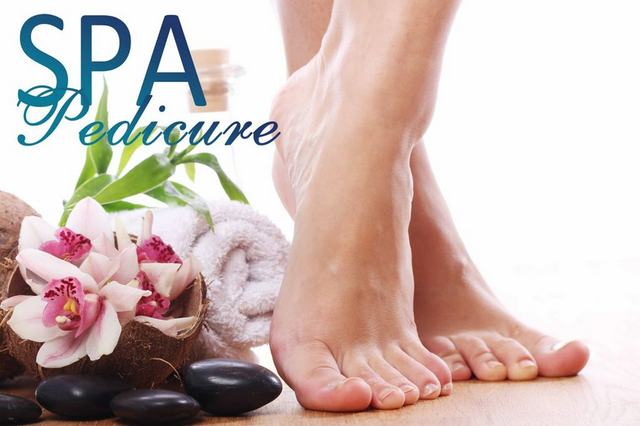 Spa Pedicure & basic Manicure combo
