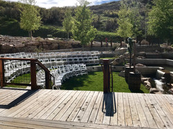 Wedding at High West Distillery in Park City, Utah
