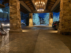 Leaving an event at the beautiful St. Regis in Park City, Utah