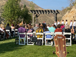 Wedding at Louland Falls in Parley's Canyon