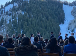 Wedding at Stein Eriksen in Park City, Utah