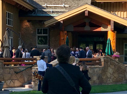 Wedding Reception at Empire Canyon Lodge in Park City, Utah
