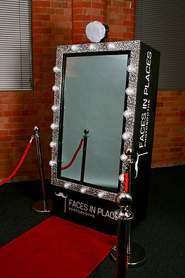 Faces in Places Photobooths Magic Mirror