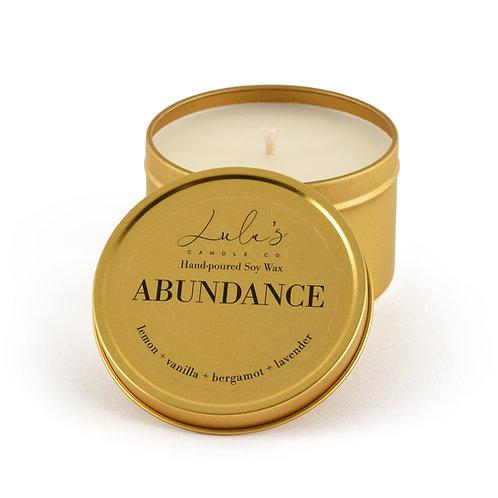 Abundance - Travel Candle (7.5oz)