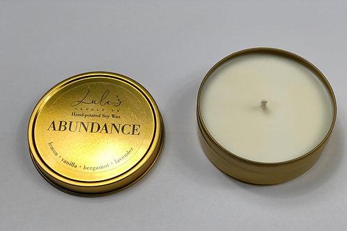 Abundance - Travel Candle (3.5oz)