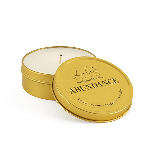 Abundance - Travel Candle (3.5oz)