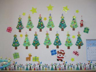 クリスマスツリーのお飾りをしました🎄