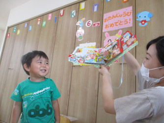 6月の誕生会をしました(*^^*)💗