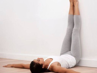 Legs Up The Wall or Viparita Karani