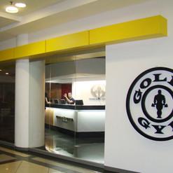 Fachaca Corporea para Golds Gym