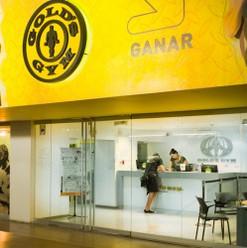 Fachada Corporea para Golds Gym Caracas