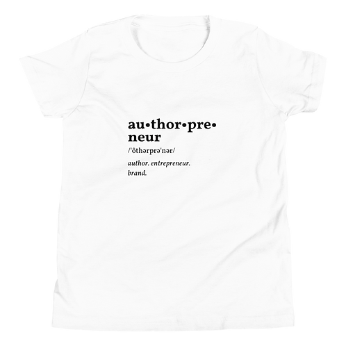 Authorpreneur Youth Short Sleeve T-Shirt