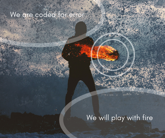 We are coded for error