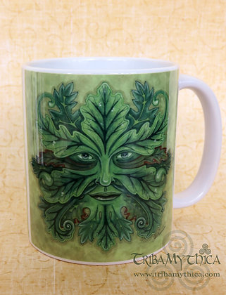Green Man - Art Mug