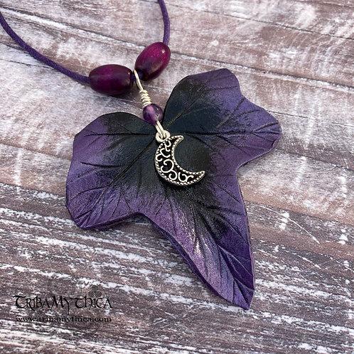 BELLADONNA - Purple Ivy Necklace
