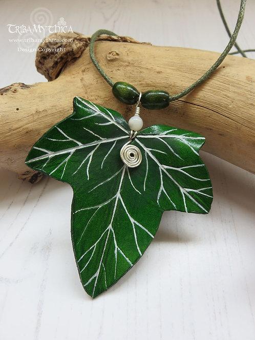Large Ivy Leaf Necklace