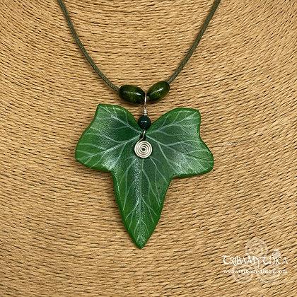 Ivy Leaf Necklace - Silver