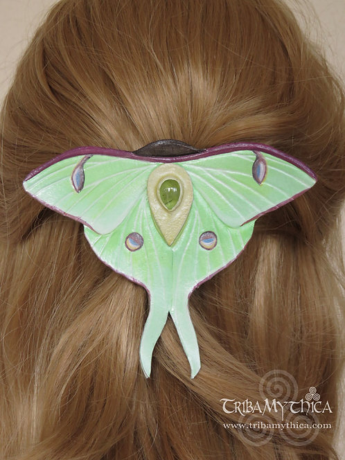 Luna Moth Hair Slide
