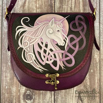 Unicorn Medium Leather Bag