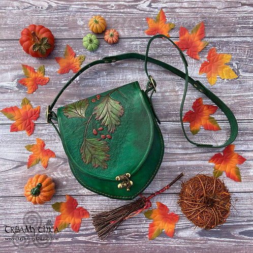 Green Hawthorn Leather Bag