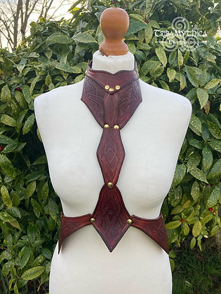Celtic Warrior Leather Harness