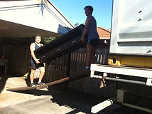 A picture of removalists doing their job in Brisbane North