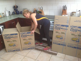 packing boxes brisbne, aspley