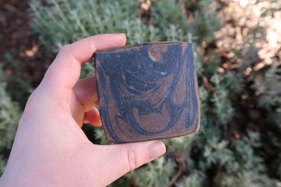 Matcha Charcoal soap.