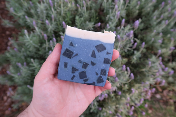 Indigo Lime soap.