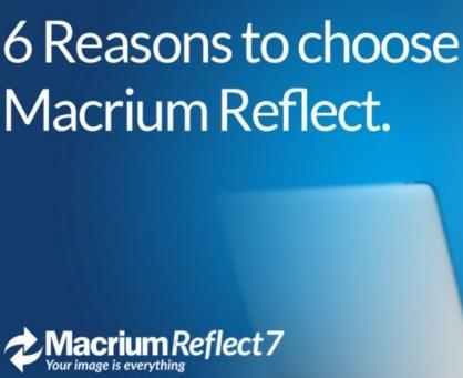6 Reasons to Choose Macrium Reflect: