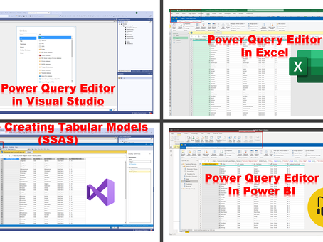 Power Query Editor - A Complete Course Online