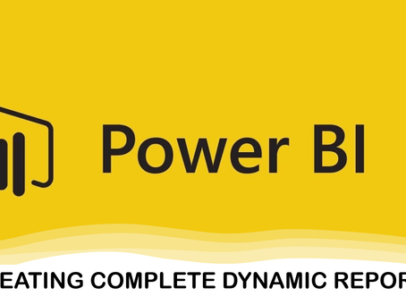 How to create a Complete Report using DAX and Slicers in Power BI