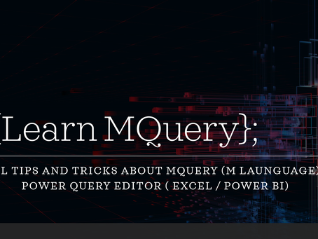 Do you wish to Learn M Language (MQuery)?