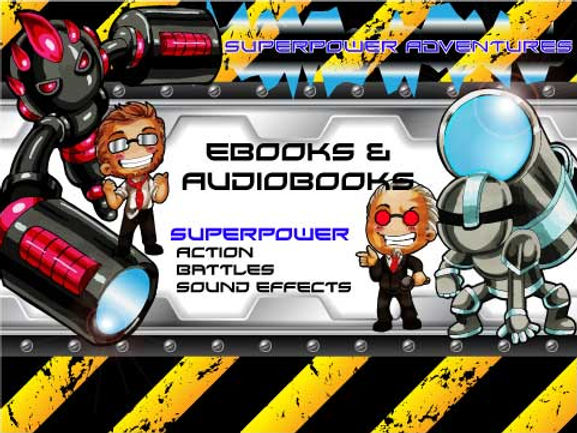 eBooks & Audiobooks with Superpowers, Superpower Battles and Sound Effects Image | USC Brawlerz