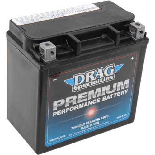Drag Specialties Premium Performance Battery GYZ16HL