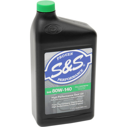 80W-140 High Performance Full-Synthetic Gear Oil 1 Quart