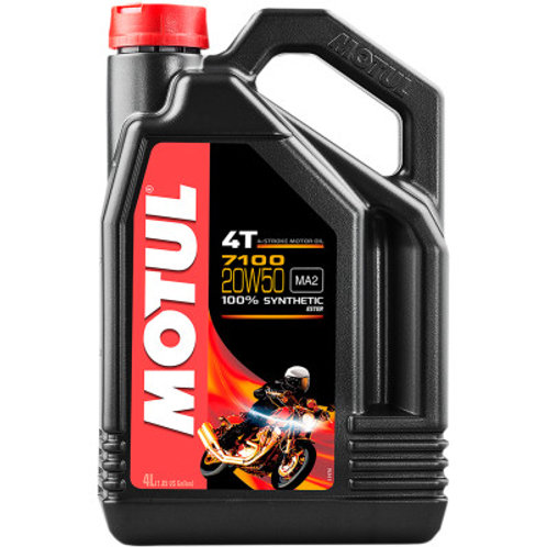 Motul 20w50 Synthetic Motor Oil 1 Gallon Size for Street Bikes