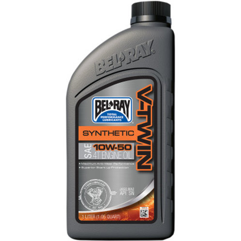BEL-RAY V-Twin Synthetic Motor Oil 10W50 1 Liter